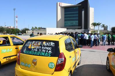 Demandan también evitar la llegada y puesta en marcha oficial de la plataforma DiDi.