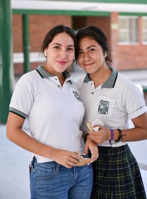 22082019 Jessica Garza y Carolina Reza.