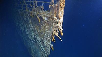 En un hecho único, han salido a relucir impresionantes imágenes de los restos del Titanic.