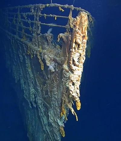 Las imágenes fueron conseguidas por el grupo de exploradores Caladan Oceanic.