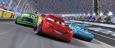 Cars (01/09/2019)   En esta aventura animada, el prometedor auto de carreras Rayo McQueen se sale del camino para atravesar el país y participar en una carrera importante..