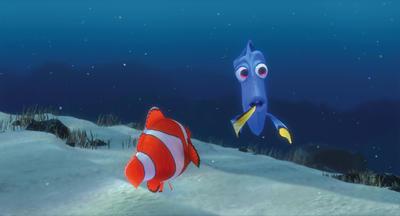 Buscando a Nemo (01/09/2019)  En esta apasionante aventura, dos valientes peces, Marlin y Dory, buscan exhaustivamente en su mundo submarino al hijo perdido de Marlin, Nemo.