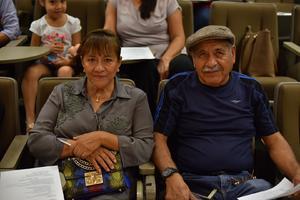 23082019 APRENDIENDO RECETAS.  Imelda y Alfonso.