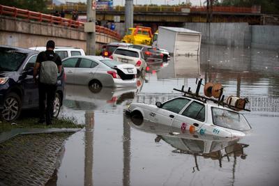 La coordinación entre los tres órdenes de gobierno ha permitido brindar el auxilio a los afectados por las fuertes precipitaciones.