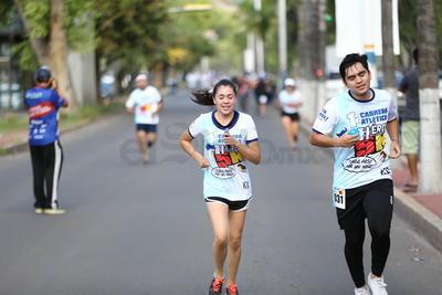 Cientos de corredores se dieron cita para apoyar la 5K Héroes