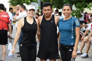 26082019 Ana Villela, Dionicio Castillo y Ale Noriega.