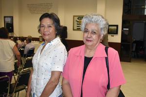 25082019 EVENTO EN EL SIGLO DE TORREóN.  Yolanda y Celia.