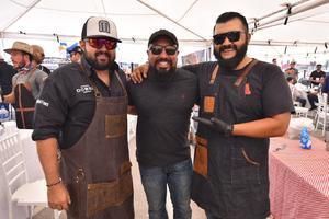 26082019 Moncho Gutiérrez, Javier Nava y Yuyú Zamora.