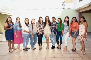 24082019 Elsa, Natalia, Valeria, Edith, Ayme, Jazmín, Laura, Maricruz, Brenda, Ana y Wendy.