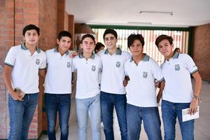 26082019 Ignacio, Juan Pablo, Emilio, Evaristo, David y Juan Pablo.