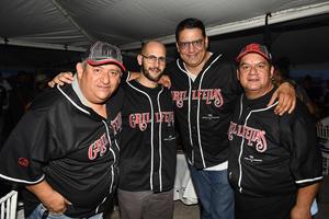 25082019 ENTRE AMIGOS.  Gratos momentos disfrutaron un grupo de amigos en el Rally Coahuila 1000.