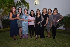 25082019 Contadoras, Lucila, Maricela, María Luisa, Elvia Leticia, Lety, Lorena, Vicky y Lucy.