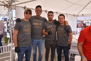 26082019 Adolfo, Miguel, Luis y Cédric.