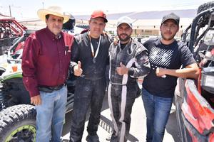 24082019 Ricardo Castro, Andrés Huerta, Alex Huerta y Alejandro González.