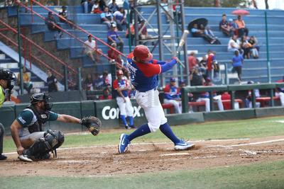 Marco Antonio Duarte, pitcher que se fue sin decisión, comenzó a tambor batiente, dominando a los dos primer rivales.