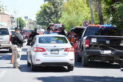 El operativo causó la molestia de los conductores sancionados, pues afirmaron que no se había avisado con anticipación sobre éste.