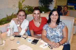 28082019 Ana Cristina, Elisa y Ludivina.