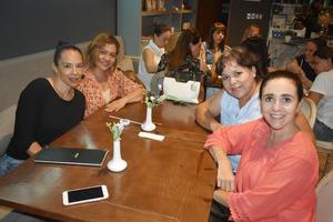 28082019 Marcela, Griselda, María Elena y Mary Lolis.
