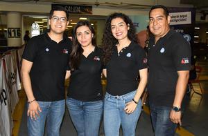 28082019 Abraham, Karla, Claudia e Iván.