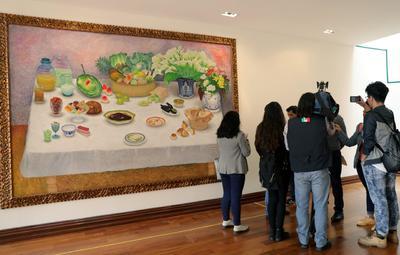 En las dos plantas de la casa Alemán se encuentran las 33 piezas que fueron creadas a comienzos de los años 90.