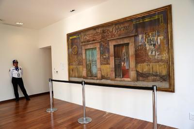 Las pinturas, que conforman la llamada colección Presidencia de la República, podrán ser vistas por el público desde este miércoles.
