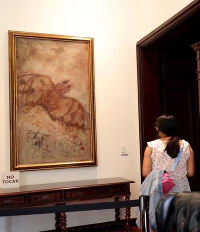 Las pinturas, que conforman la llamada colección 'Presidencia de la República', podrán ser vistas por el público desde este miércoles.