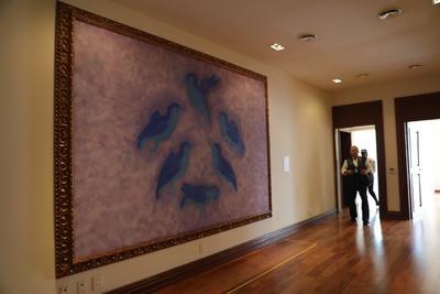 Las pinturas, que conforman la llamada colección