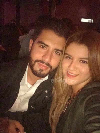 Víctor Ramos y Andrea Llera