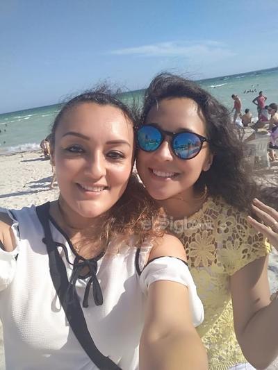 Yazmín Ibarra y Lidia Ibarra.