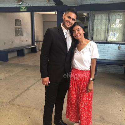 Alberto Gaucin y Maleny Román.