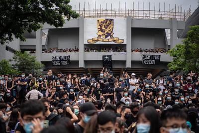 Las protestas no paran en Hong Kong.
