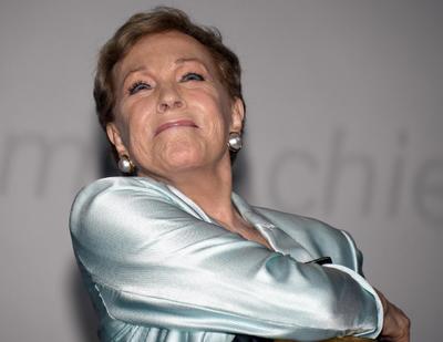 Dan León de Oro honorífico a Julie Andrews en la Mostra de Venecia