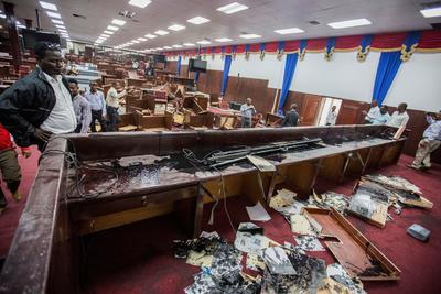 Escalaron las acciones opositores contra el nuevo Gobierno de Haití.