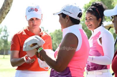 Lorena Ochoa visita La Laguna