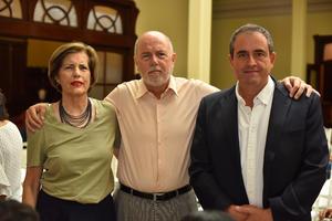 02092019 Rosario Ramos, Javier Ramos y José Murra.