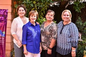 02092019 Lupita de Lara, Rosina Martínez, Paty Vega y Marissa      Morales.