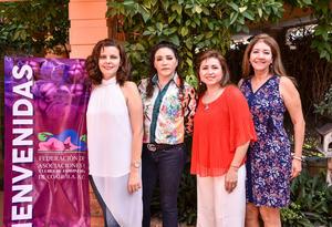 02092019 Elena Nájera, Carmen Camargo, Cynthia Rodríguez y Susy Dingler.