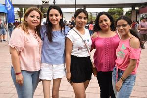 04092019 Daniela, Lucy, Lulú, Nallely y Nelly.