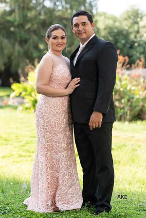 01092019 Seguros de que su amor será para siempre, Damaris Rivera y Damían Castillo contrajeron nupcias el 24 de agosto.