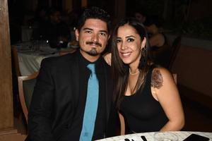 03092019 RECIENTE EVENTO.  Francisco Padilla y Miriam Gidi.