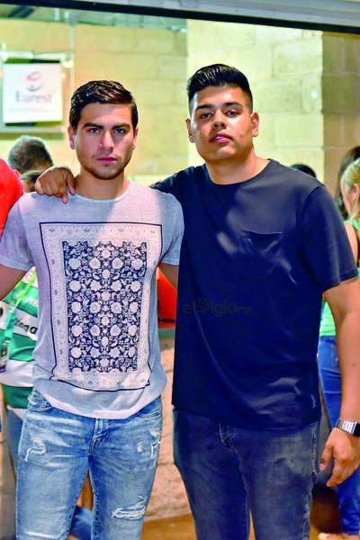 Manri y Ricardo.