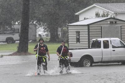 Se han registrado fuertes precipitaciones.