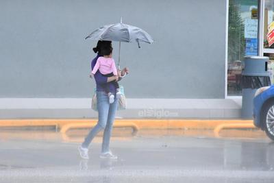 Continúa el pronóstico de precipitaciones.