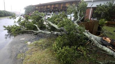 Los vientos huracanados de Dorian se extienden desde su centro hasta 45 millas.