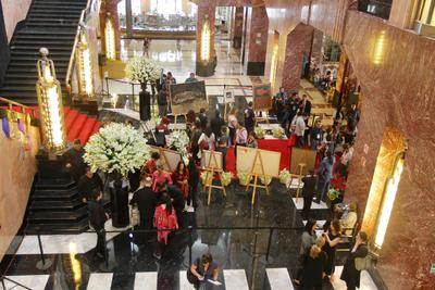 Ofrenda a Francisco Toledo en el Palacio de Bellas Artes en la Ciudad de México.
