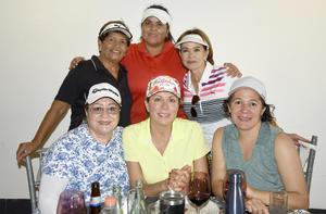 07092019 Sanjuanis, Rosina, Rosy, Alicia, Sofía y Lupita.