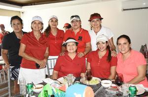 08092019 AMIGAS DEL GOLF.  Laura Jaime, Laura, Mayra, Olga, Sofi, Eva, María del Carmen y Pili.