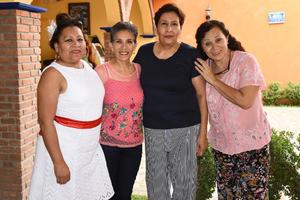 07092019 AMIGAS DEL ALMA.  Sara, Ángeles, Verónica y Agustina.