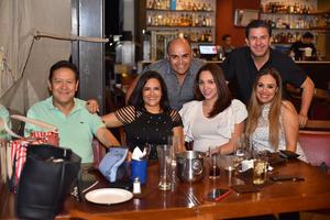 07092019 GRATOS MOMENTOS.  Cecilia Alejandro, Martha Gómez, Hilda Garza, Irma Badillo, Liliana Gaona.