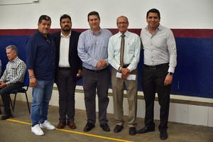 07092019 Eduardo Bernal, Luis Gutiérrez, Érick Sotomayor, Arturo Siller y Darío.